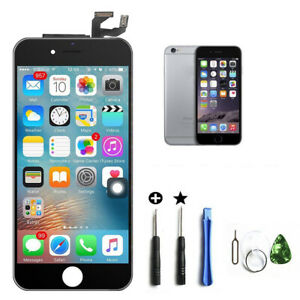 For iPhone 6s Black LCD Touch Screen Display Digitizer Replacement+Frame+Tools