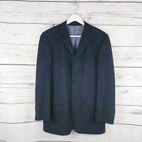 Mens Karl Jackson navy striped suit Jacket Size 38 inch chest