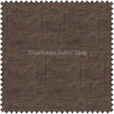 Telas y tejidos color principal marrón chenilla 150 cm para costura y mercería
