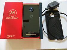 Motorola Moto Z3 Play - 64 GB - Deep Indigo (Unlocked) Smartphone - 9.5/10