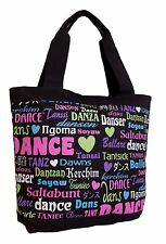 Black Dance International Tote Bag by DansBagz One of a Kind