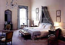 "Photo 5"" x 7"": 1st Lady Jacqueline Kennedy's White House Bedroom, 1962"