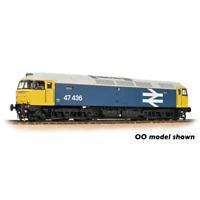 Graham Farish 372-250 N Gauge Class 47/4 47436 BR Blue (Large Logo)