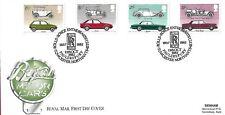 GB 1982 automobili FDC etichetta indirizzo con Rolls Royce PMK
