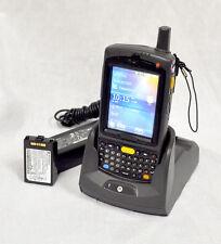 Motorola MC75A MC75A6-PUCSWQRA9WR 1D GSM Barcode Scanner PDA WM6.5 WiFi +CRADLE!