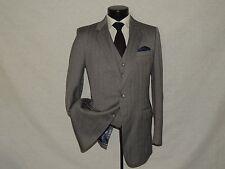 Heavy tweed men's vintage 3 piece suit coat pant waistcoat vest 40 L