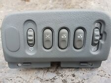 Renault Megane Scenic rear window and head light dimmer panel 1999 to 2003