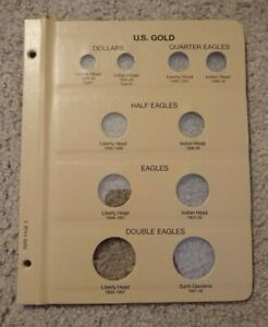 Dansco United States Gold Type 7070 Set Album Page 6
