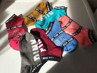 VICTORIA'S SECRET PINK Ankle Socks - One Size - Various Colours