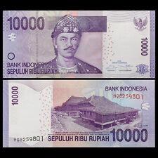 Indonesia 10000 10,000 Rupiah, 2016/2005, P-150 NEW, UNC