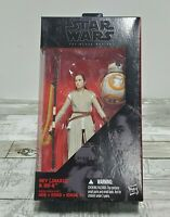 "Hasbro Star Wars - The Black Series - 6"" Action Figure - Rey Jakku and BB-8"
