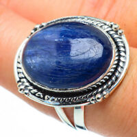 Large Kyanite 925 Sterling Silver Ring Size 8 Ana Co Jewelry R30270F