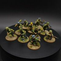 Well Painted 28mm Bolt Action Fallschirmjager Squad 1 Ww2 Warlord Games