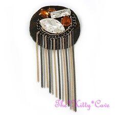 Nickel-Modeschmuckstücke aus Leder