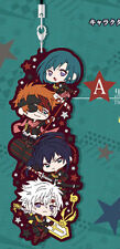 D.Gray-Man Black Order Group Allen Kanda Lavi Lenalee Rubber Phone Strap