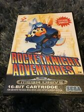 Rocket Knight SEGA Mega Drive PAL Version - Custom Game - Grade AAA+++