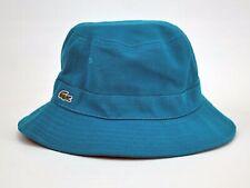 NWT LACOSTE Bucket Hat Blue//Black Size:M//L RK3485