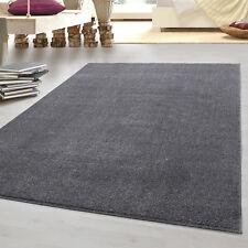 Moderner Kurzflor Teppich Einfarbig Gabbeh optik Wohnzimmer ver. Farben Grössen