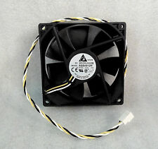 "Delta ASB0912H 92mm x 25mm Quiet High Airflow Fan 18"" Long Wires For Micron Case"
