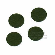 Victor Victrola Phonograph Cabinet Light Green Felt Bumper Pads for Lid Set of 4