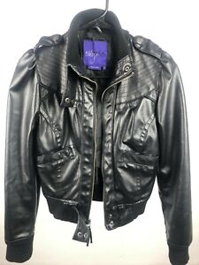 Polyester Black Small Miley Cyrus Jacket