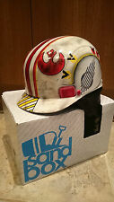 STAR Wars Luke Skywalker BATTAGLIA indossato X-WING FIGHTER Pilot Casco Da Sci Snowboard