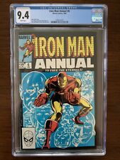 Iron Man Annual #6 CGC 9.4 (Marvel 1983)  To Free the Eternals!