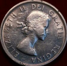 1959 Canada Silver One Dollar Foreign Coin