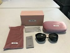 Brand New Miu Miu Mu 10Ns 1Ab1A1 Women's Sunglasses