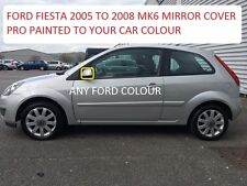 FORD FIESTA 05-08 WING MIRROR COVER RIGHT SIDE SIDE PAINTED ANY FORD COLOUR