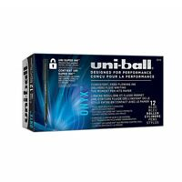 Uniball Pens ONYX Rollerball Pen Blue Fine Point 0.7mm Home School Office 12 Ct