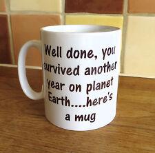 Funny Birthday Present Gift Coffee Tea Mug