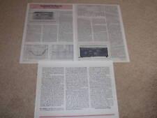 Marantz 2500 SUPER RECEIVER Review, 3 pgs, Specs, Info