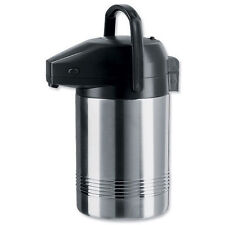 La AESM Presidente 2.0 Litros Acero Inoxidable Bomba Flask-mantiene caliente durante 6 horas
