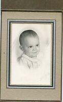 Antique Studio Photo in Folder - KIRTS Family (Charles Avery) Baby - 1947