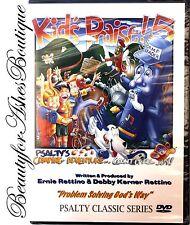 Psalty the Singing Songbook Fun Singalong Camping Adventure Kids Prasie 5 DVD