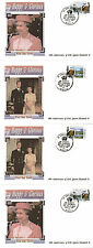 St VINCENT GR 2 MARCH 1992 HAPPY AND GLORIOUS SET OF ALL 4 FIRST DAY COVERS SHSs