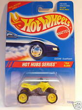 HOT WHEELS SUZUKI QUAD RACER HOT HUBS~ ERROR ~