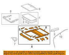 TOYOTA OEM 15-17 Camry SUNROOF-Housing Assembly 6320306090