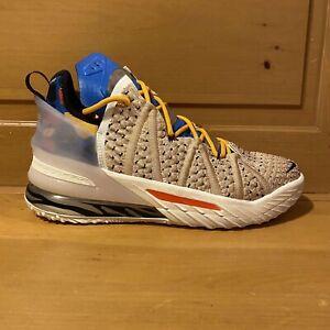 Nike Men's Lebron 18 XVIII CW3156-900 Majestic Ferocity Cream Shoes Size 10.5