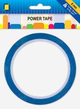 10 Meter Power Tape 6mm Rolle Ultra starkes doppels. Klebeband bis 1,2kg/10mm²