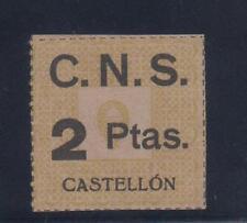 CASTELLÓN.  2 PTAS C.N.S.   FORMATO GRANDE
