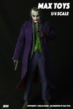 18inches Batman The Joker 1/4 MAX TOYS JK01 Heath Ledger Head & Clothing Suits