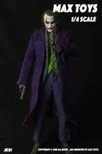 18inches Batman The Joker 1/4 MAX TOYS JK01 Heath Ledger Head & Clothing Suits