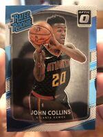 2017-18 Donruss Optic Basketball John Collins Rated Rookie Atlanta Hawks RC  QTY