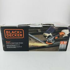 """BLACK and DECKER 6AMP 4-1/2"""" Small Angle Grinder with Bonus Discs"""
