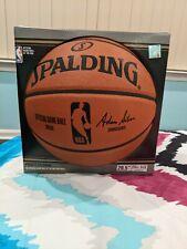 "Spalding Official Nba Game Basketball Authentic 29.5"" Same as Nba"