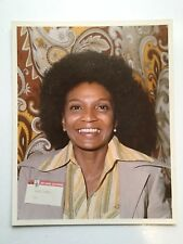 Star Trek Nichelle Nichols rare vintage press photo early 1970s