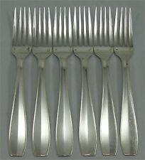 Christofle modèle Atlas, 6 fourchettes de table, très bon état. 1/2.