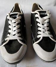 Levis NEGRO Playera Zapatillas Zapatos Talla 10
